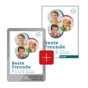 Beste Freunde B1.2 Arbeitsbuch +CD-ROM